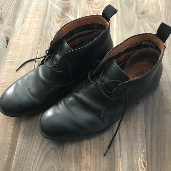 große Auswahl an Farben kostengünstig angemessener Preis Clarks men's low boot black leather shoes